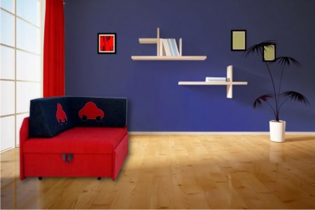 Anix Babaáruház Jacky kinyitható gyermek kanapé