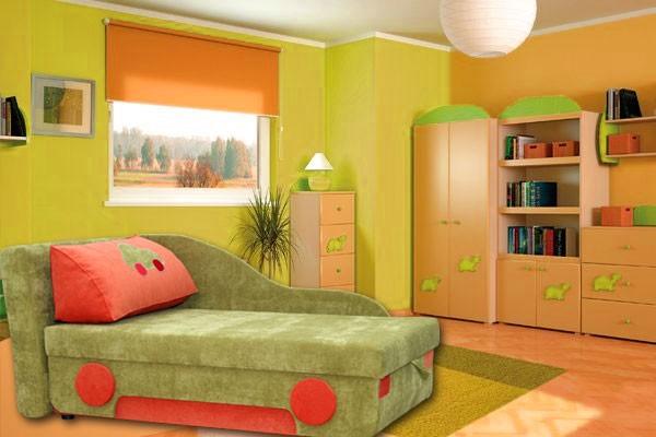 Anix Babaáruház Tommy kinyitható gyermek kanapé