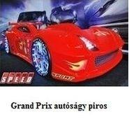 Grand Prix autóságy piros